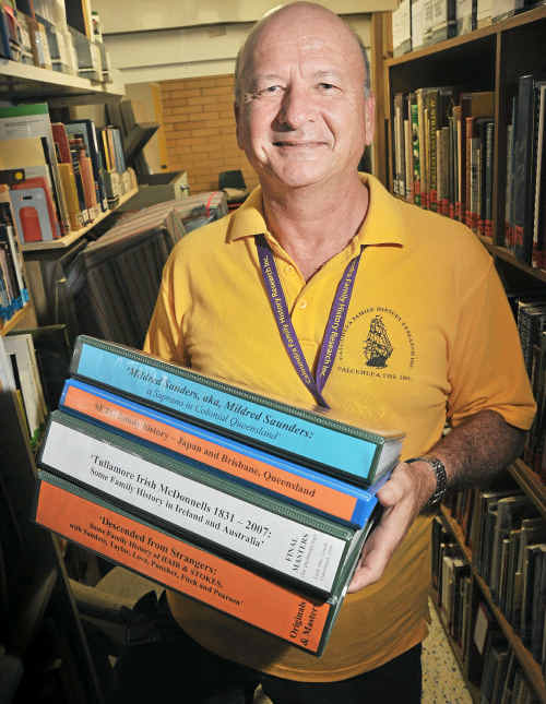 FAMILY DETECTIVE: Paul Seto is a member of Caloundra Family History Research Inc and a convenor of the Scotland research group. He has traced his family history back 11 generations and 200 years.