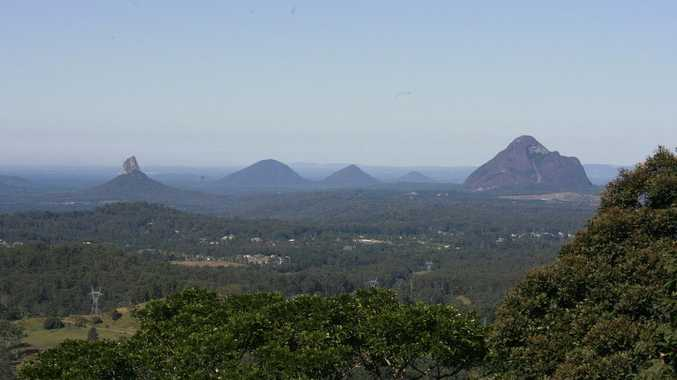 The Glasshouse Mountains are a Sunshine Coast icon, but they might just be a bit more famous than we thought.