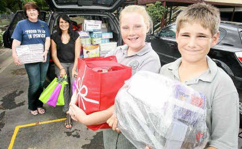 The Queensland Times' Bernadette Mohr delivers