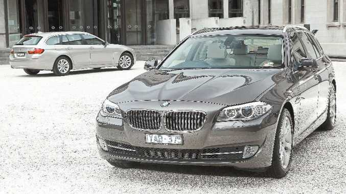 The BMW 5 Series Touring.