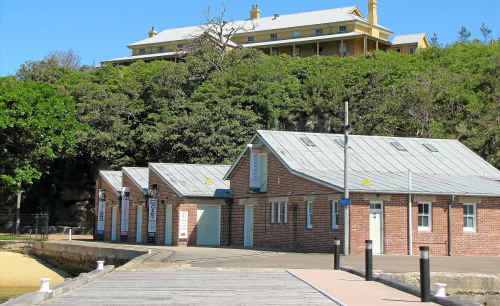 NEW ERA: Today's Q Station at Sydney's North Head is a place you may never want to leave ... unlike guests in its former life as a quarantine station.