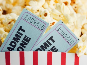 MOVIE NIGHT: Stay in and watch a movie at home.