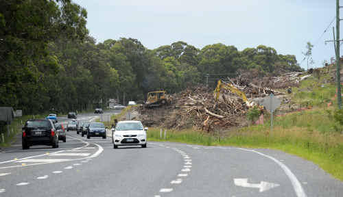 The RTA urges motorists to take care as the Sapphire to Woolgoolga upgrade continues.