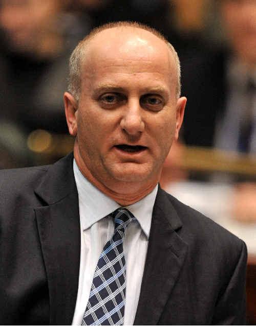The Minister for Housing Frank Terenzini.