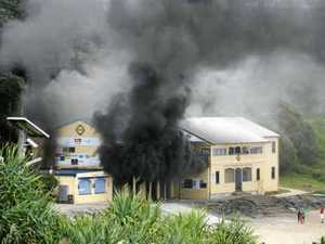 Surf club goes up in smoke