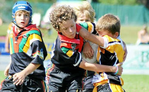 Juniors signing up to play rugby league on February 19 receive a free pass to watch the Souths and Gold Coast match.