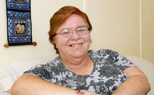 Ovarian cancer survivor Rosemary Willett.