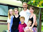 Paul and Sarah Davies and their children, Sophie, 15, Abby, 13, Ethan, 8 and Ella, 6, have moved here from Adelaide.