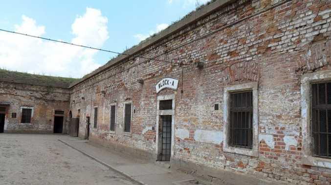 Terezin concentration camp in the Czech Republic.