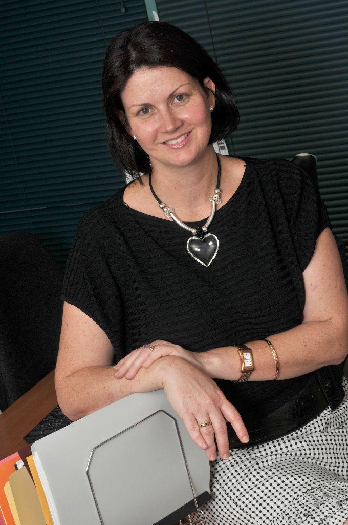 The Observer editor Meredith Papavasiliou.