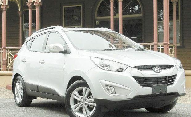 The Hyundai ix35.