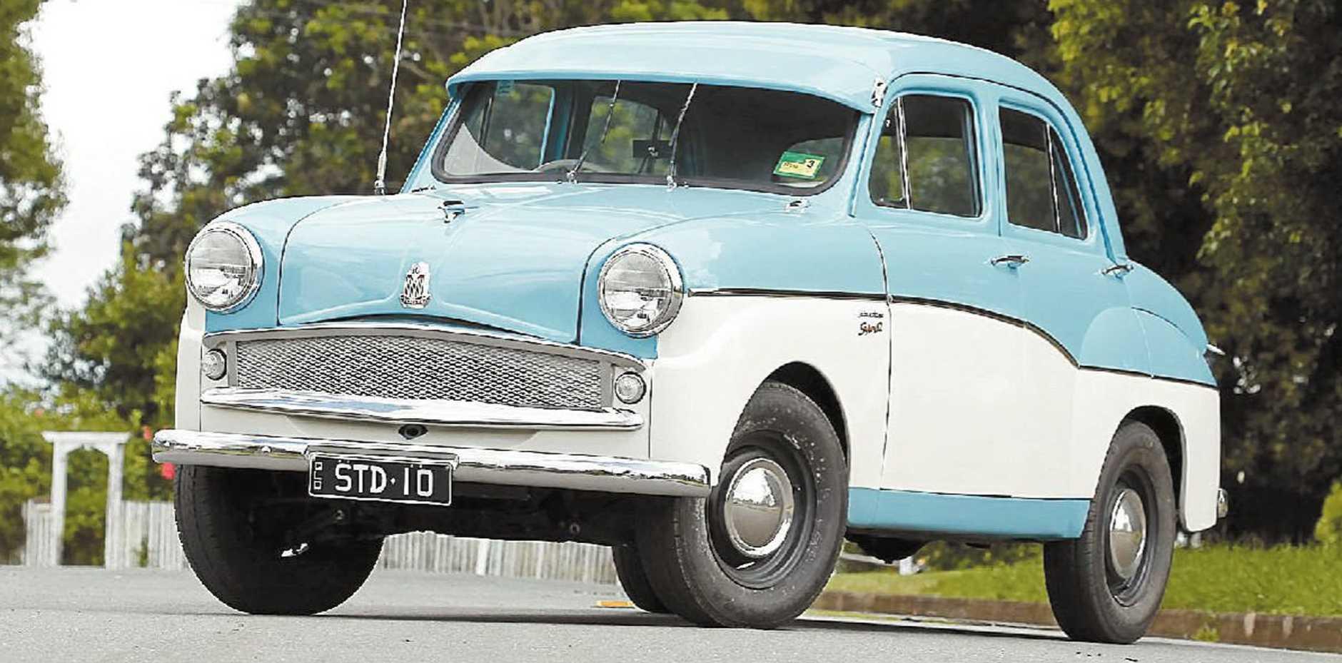 Dennis Douglas' fully reconstructed 1954 Super Standard 10