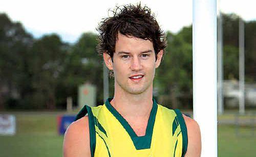 Maroochy Northshore Roos' new player Jarrod Raun.