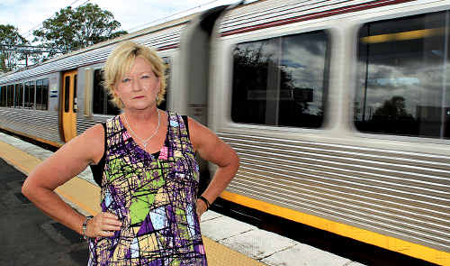 Pauline Fraley's usual train services have been rescheduled, adding one and a half hours to her daily return journey.