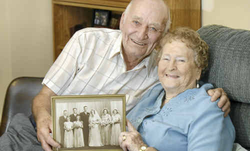 Roydon and Leta Schmidt celebrate 60 years of love, marriage and family.