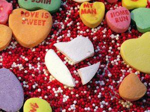 Valentine's Day grinch