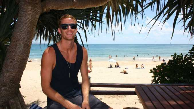 Meet bachelor number two: Noosa local and law student Virgil Power.