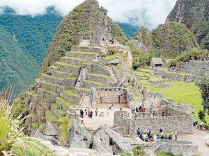 Walking beside the Incas