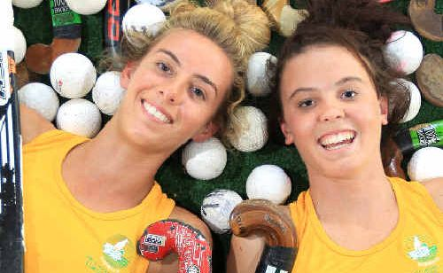 Savannah Fitzpatrick and Gabrielle Nance have been selected for the Australia Schoolgirls hockey team.