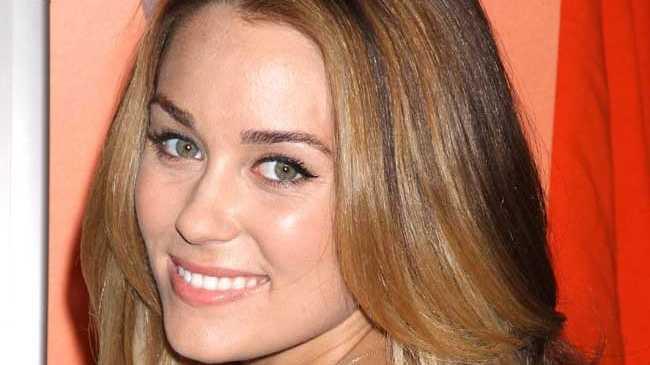 Former Hills star Lauren Conrad.