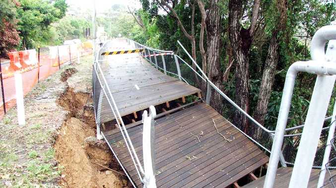 Work to fix the collapsed section of the walkway at Lighthouse Road, Byron Bay, is set to start next month.