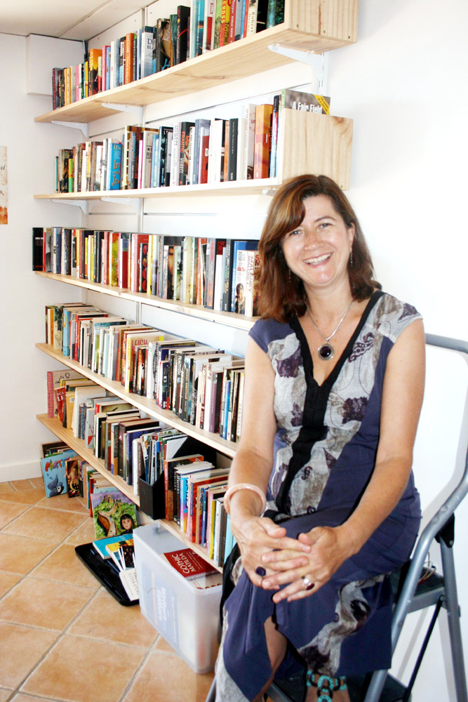 Byron Bay Writers Festival director Candida Baker and her team are hard at work organising this year's festival.