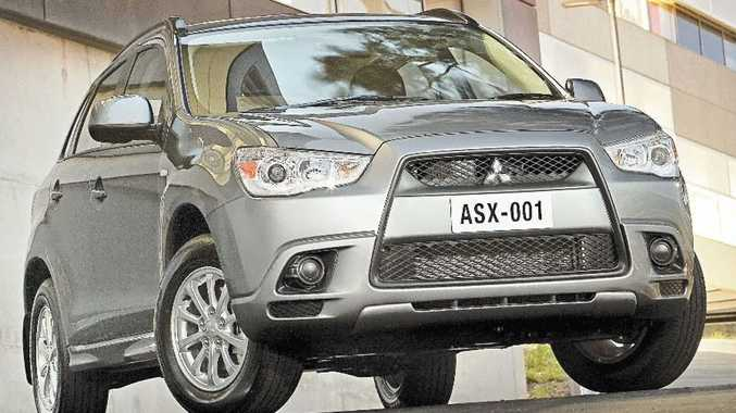 Given the Mitsubishi ASX 2WD is at the bottom of the tree, it's a surprisingly well finished and spacious cabin.