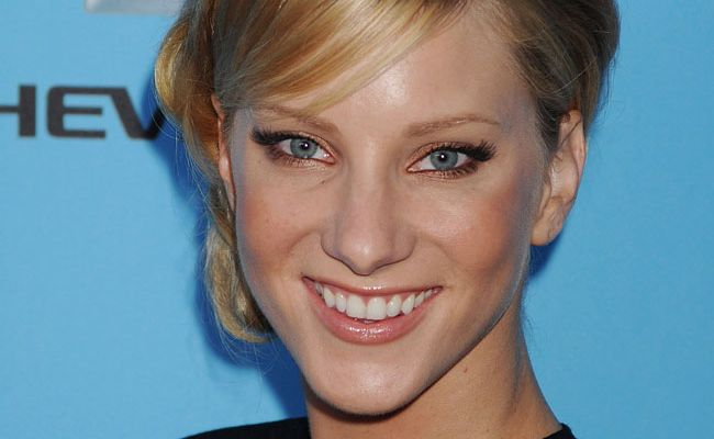 Glee star Heather Morris .