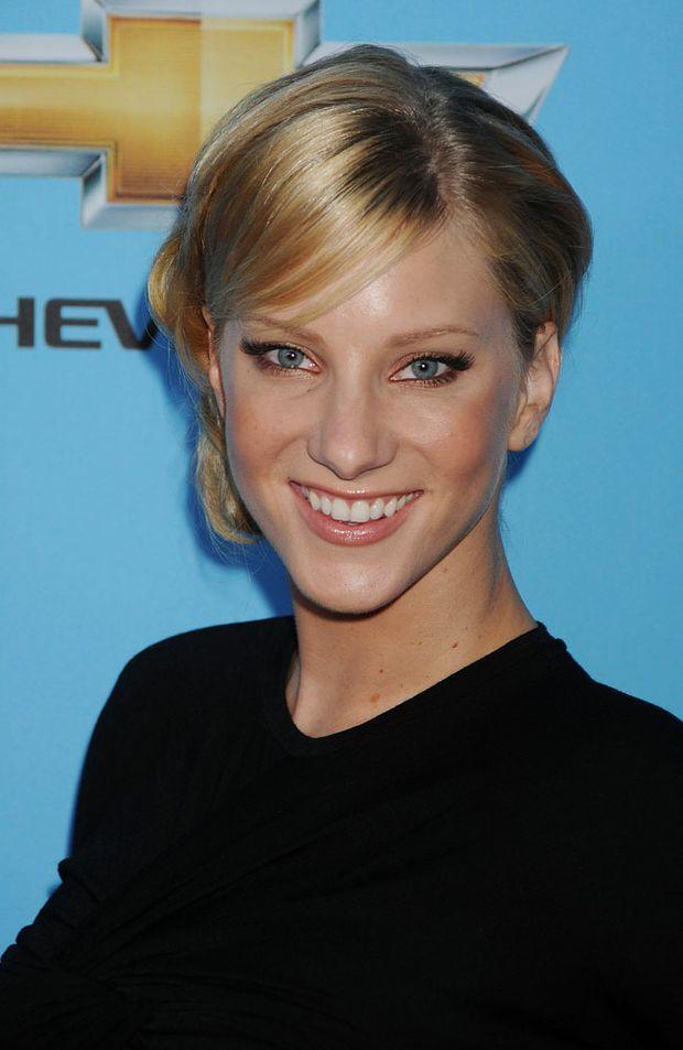 Glee star Heather Morris .