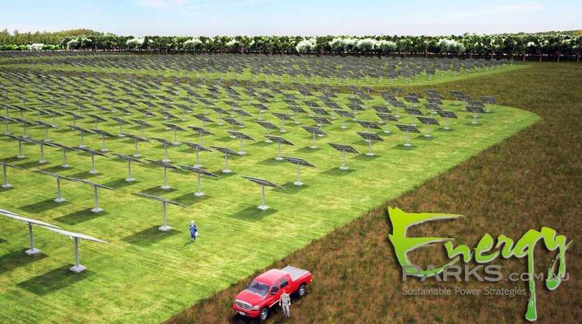 Energy Parks Australia wants to build a solar farm at Valdora, creating energy and jobs for the Sunshine Coast