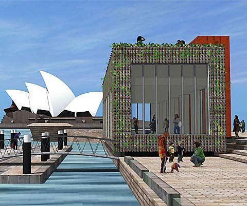 The Greenhouse designed by Joost Bakker.