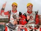 V8 Supercar drivers Jamie Whincup and Craig Lowndes.