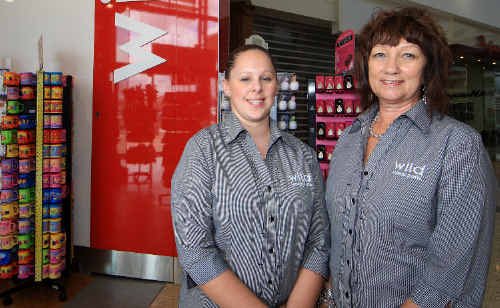 Hayley Lilley and Valerie Frost from Wild at Tweed City were busy in the lead-up to Valentine's Day.