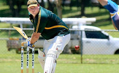 Craig Wilson scored 35 in Cudgen's tough one-day grand final loss to Casino on Sunday.