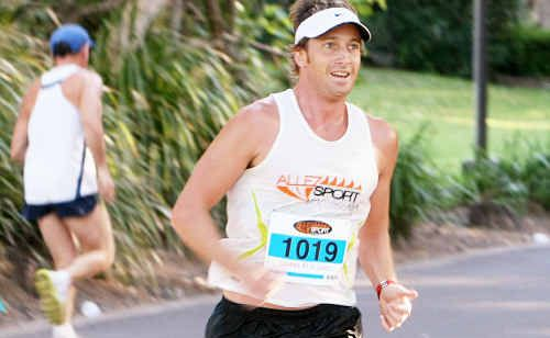 Adam Fitzakerley was in top form at the Allez Sport Summer Run 10km race at Coolum on Saturday.