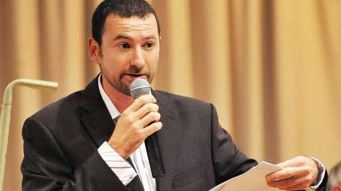 Councillor Mark Graham has received a written death threat.