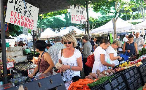 Explore the Coffs Coast Growers' Market in the heart of the CBD today.
