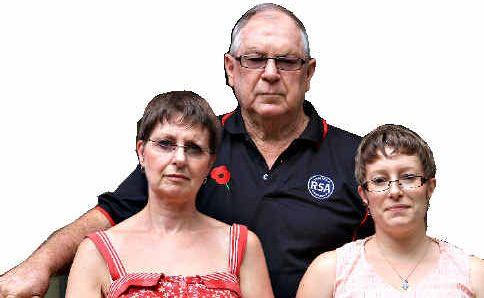 Pat, Glenys and Melanie Robson are New Zealanders living in Murwillumbah.