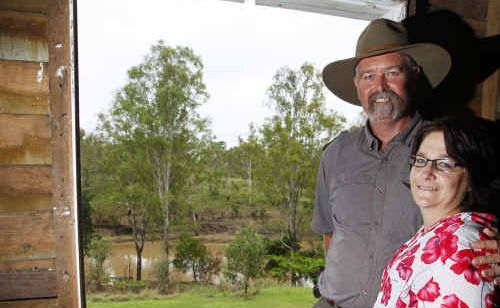 Roger Murfet and Patricia Ellis of Karalee are inviting their community to join them.