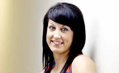 Talented Ipswich netballer Nicole Cude.