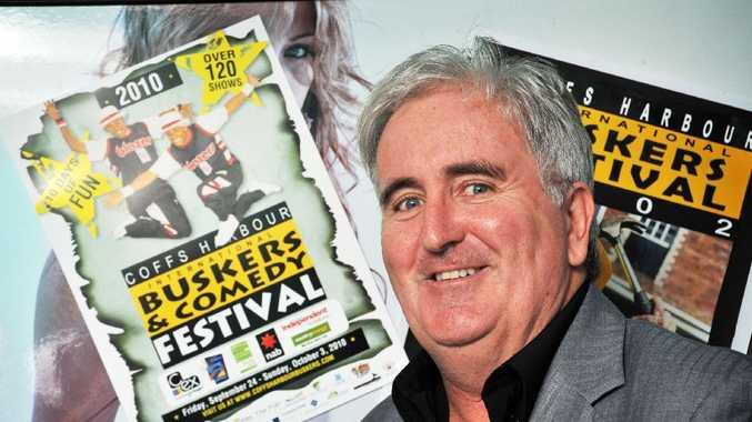 John Logan, the man behind Coffs Harbour International Buskers' Comedy Festival