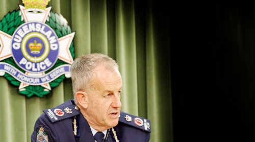 Police Commissioner Bob Atkinson.