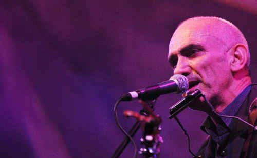 Paul Kelly performing at the 2010 Splendour in the Grass at Woodford in Queensland.