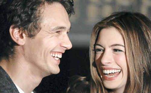 Actors James Franco and Anne Hathaway will host the prestigious 83rd Academy Awards ceremony.