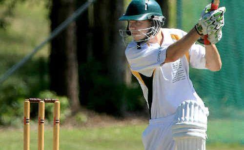 Terranora batsman Adam Rogers.