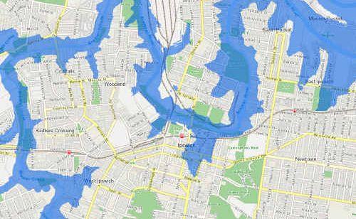 Ipswich Flood Map New flood maps reveal destruction | Queensland Times Ipswich Flood Map
