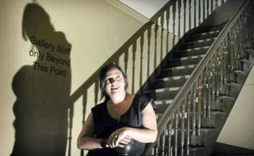 Education and Public Programs Officer for the Grafton Regional Gallery, Rose Marin, will lead fun, daytime children's ghost tours at the gallery.