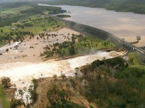 2013 Wivenhoe Dam water release
