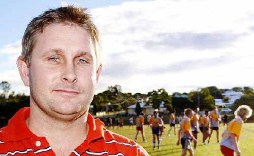 Ipswich Diggers coach Paul Lowe.