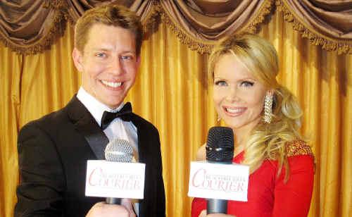 Ipswich-trained journalist Brenton Garen co-hosts an Oscars night in Hollywood with Tamara Henry.